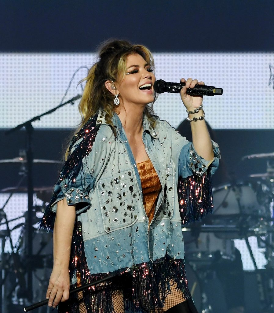 Shania Twain residence opening night Zaps Theater Planet Hollywood. Dec 6 2019. © Denise Truscello