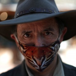 Ignacio Idalsoaga, manager of the 'Buin Zoo' which is looking for sponsors to funds for food, maintenance and veterinary controls for its animals due the lockdown, poses for a picture, during the coronavirus disease (COVID-19) outbreak, in Buin, Santiago, Chile September 9, 2020. REUTERS/Ivan Alvarado
